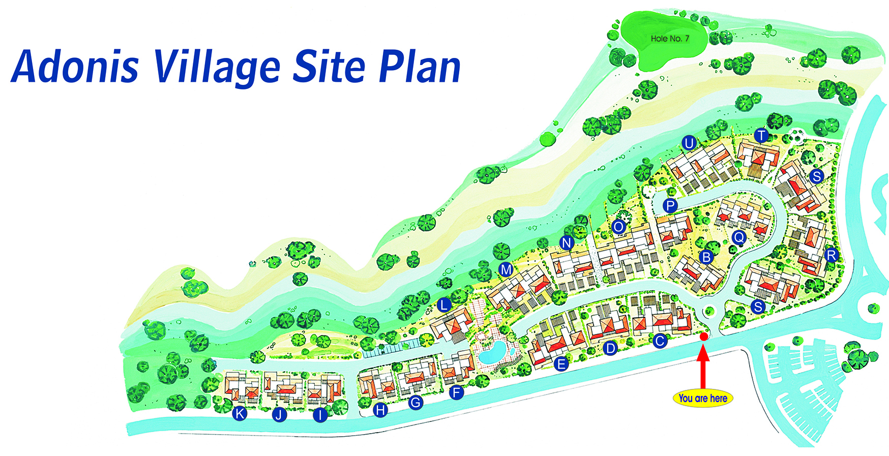 Adonis Village SIte Plan